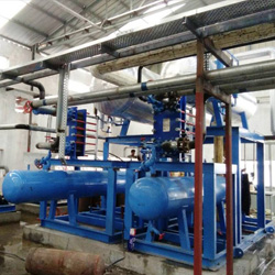 Ammonia Refrigeration Systems for Brewery